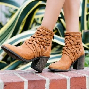 Free People Carrera Heel Boots